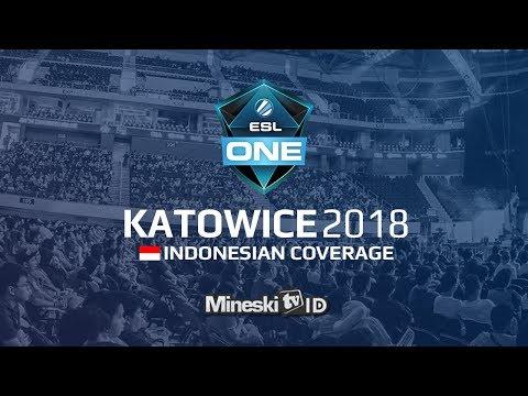 🔴LIVE : Na'Vi vs FNATIC @ESL Katowice 2018 Group Stage - Indonesian Coverage