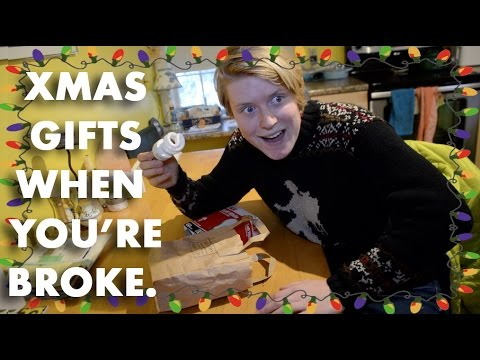 5 CHRISTMAS GIFT IDEAS WHEN YOU HAVE NO MONEY - YouTube
