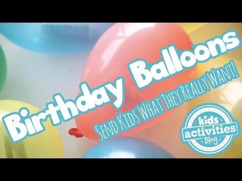 Birthday Balloons In A Box