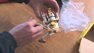 Reel Fishing   YOMORES HF3000 катушка з aliexpress обзор