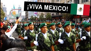Highlights from Mexico Military Parade 2018 (Desfile Militar CDMX)