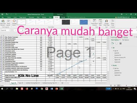 Membuat Kurva-S di Excel..