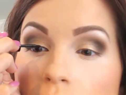 Easy Brown Smokey Eye Tutorial - YouTube