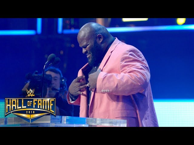 Mark Henry wants to induct a few champions into the Hall of Pain: WWE Hall of Fame 2018
