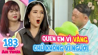 Lunch Date   Ep 183: After losing gold for a girl on Zalo, guy comes to Cat Tuong for matchmaking