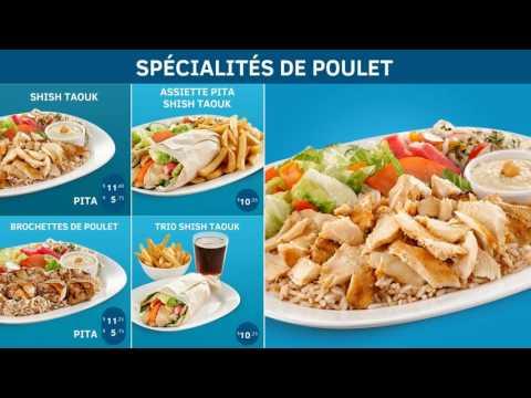 Groupe Diffusion Media - Menus numériques pour restaurants  - Restaurant ARZ