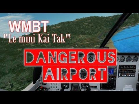 Vol commenté : Dangerous Airport / Pulau / Cessna 208B