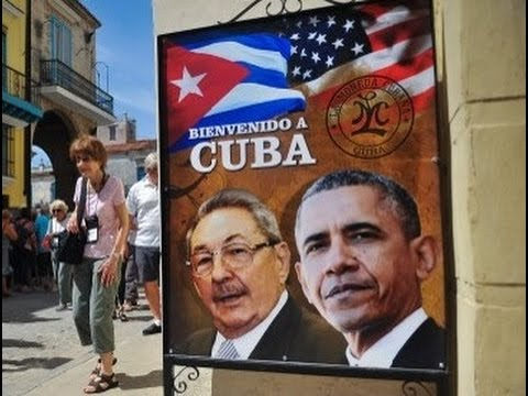 Obama in Cuba - Arrival ceremony, bilateral meeting, statements or press conference