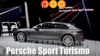 Porsche Panamera Sport Turismo 2017 - Salon de Genève 2017 8/19