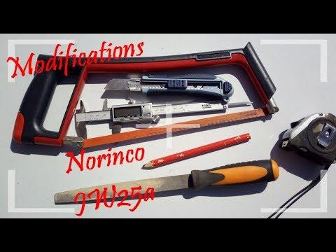 Custom Norinco JW25a - Etape 2/3 Modification et Poncé Huilé