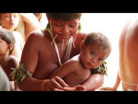 The Yanomami people