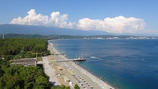 Пицунда Абхазия(под музыку Климат в Пицунде влажный средиземноморский субтропический, схожий с климатом Гагры. Лето тёплое..., 2016-03-21T03:29:53.000Z)