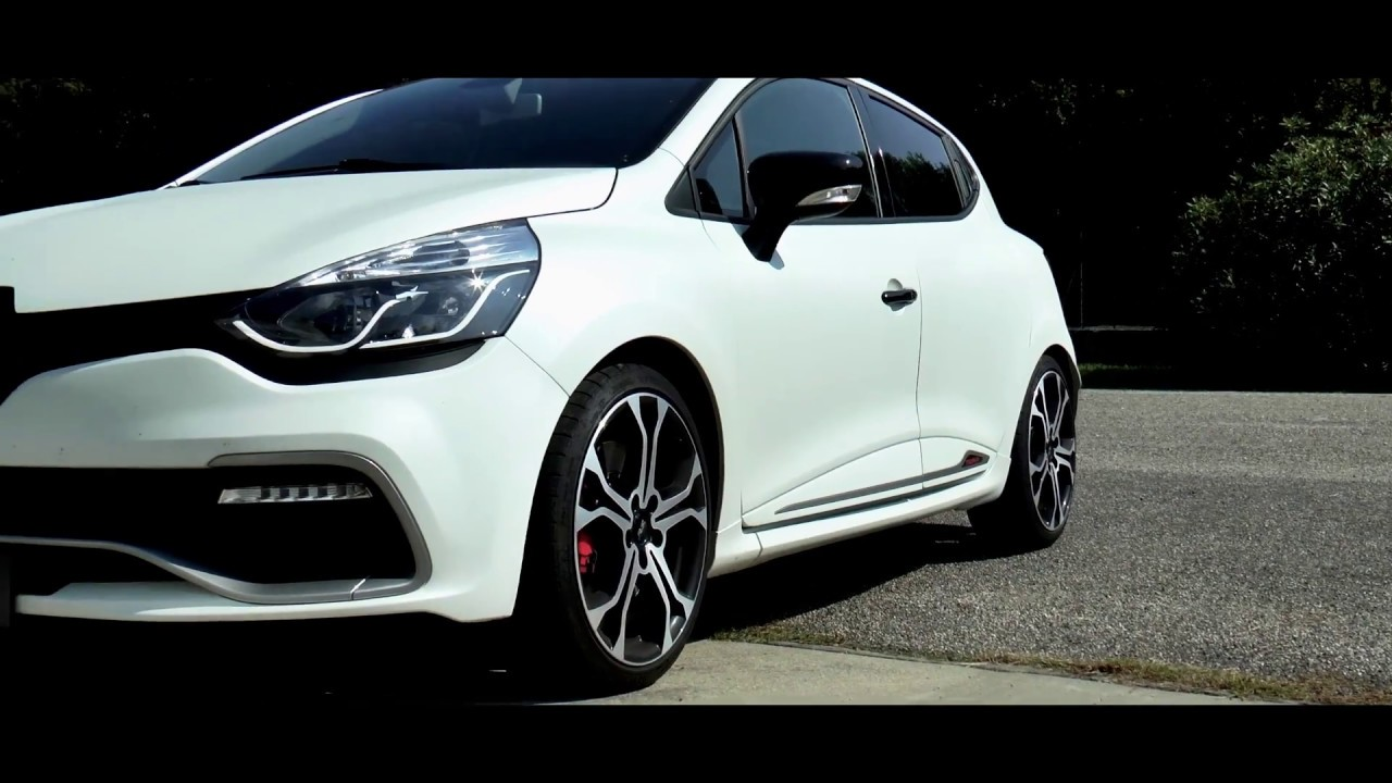 Tylko na zewnątrz Renault Clio IV RS Trophy 220 Hp with Supersprint full exhaust MR53