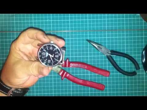 Как починить ремешок на часах если нет держателя