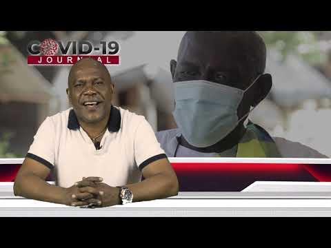 Kapitein en Hoofd Kapitein Boven Suriname laten zich vaccineren.