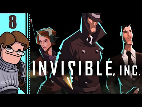 Let's Play Invisible, Inc. Part 8 - Chief Financial Suite: Access Code Chip