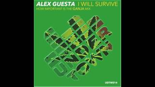 Alex Guesta   I will survive How important is the Ganja Mix