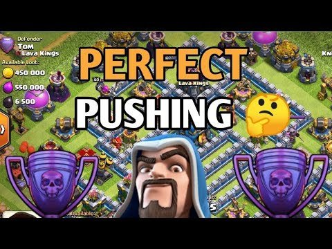 Perfect Pushing Th12 In Legend League | Clash Of Clans