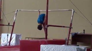 Спортивная гимнастика Брусья 3 юнешеский разряд Сайко Виолетта
