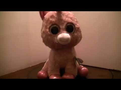 8f50b3e9a3f Ty Beenie Boo s Rosey the Unicorn Review - YouTube