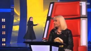 Голос Италия монахиня Сестра Cristina