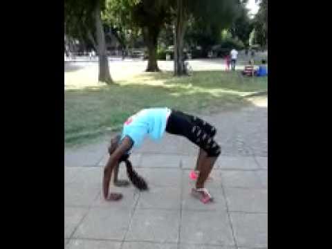 Ginnastica al parco
