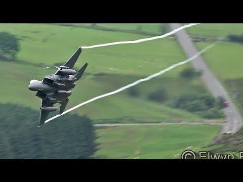 Great Sound!!  USAF & RAF Jets in the Mach Loop