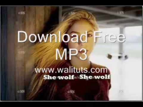 Shakira She Wolf Www Walituts Com