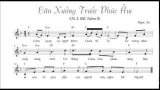Câu xướng trước Phúc Âm .   CN 2 - MC/B.