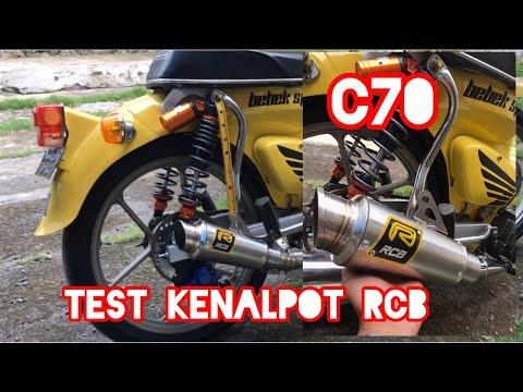 Suara kenalpot RCB Purbalingga di C70 bore up harian!!!