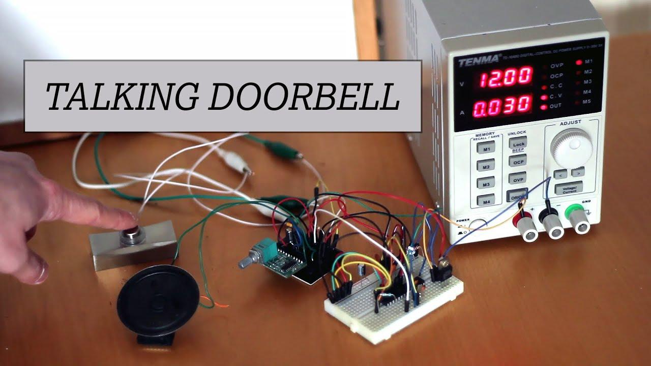 Arduino Powered Doorbell Youtube Wiring Doorbells In A Triplexbasementwirejpg Premium