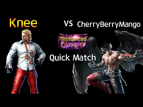 무릎 (Steve) vs 체리베리망고 (Devil Jin) (TEKKEN 7  Knee vs CherryBerryMango)