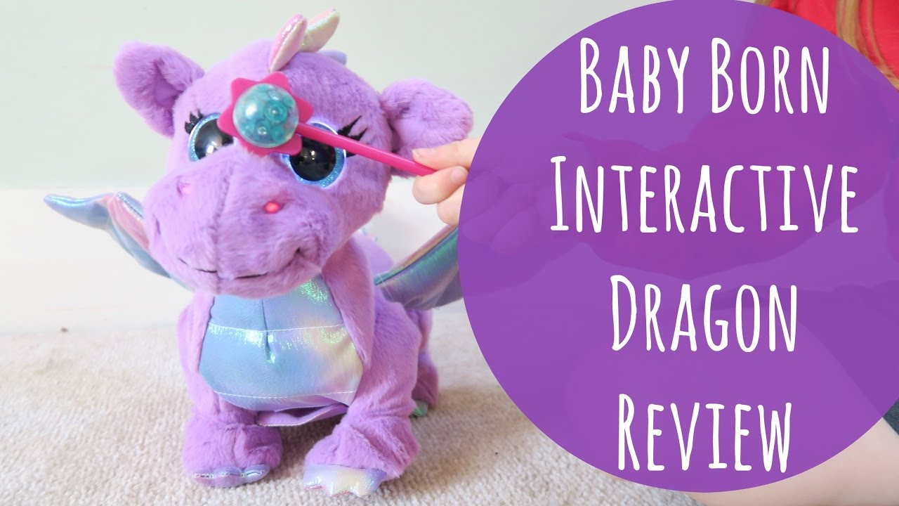 baby born drache interaktiv