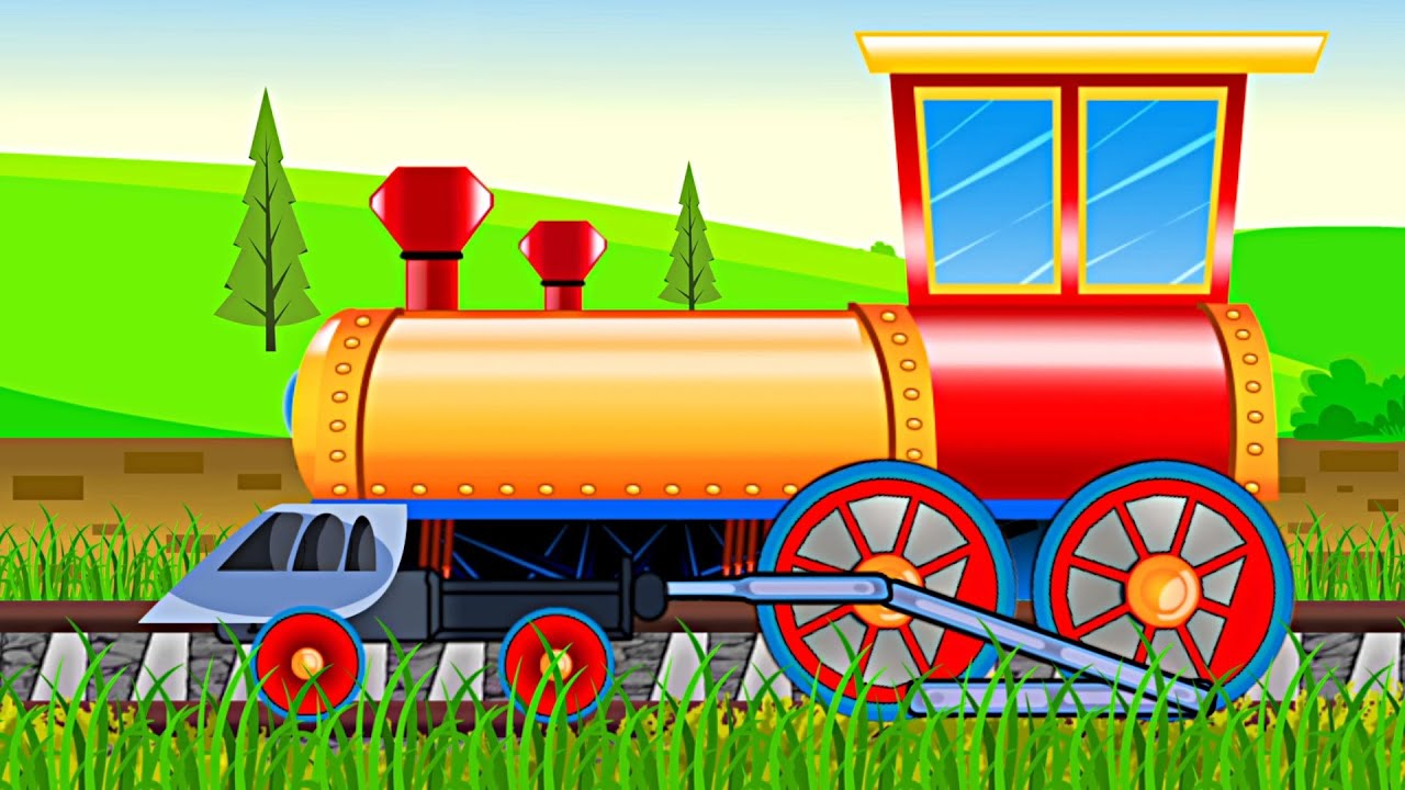 Train Formation Uses Kids Videos Learn Transports YouTube