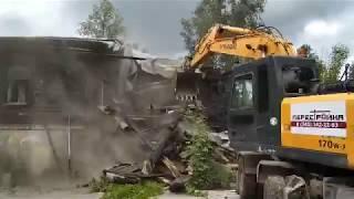 "На месте ""Екатеринбург-сити"" сносят два дома"""