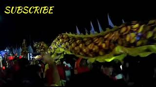 PAWAI LAMPION SINGKAWANG-CHINESE NEW YEAR 13 2019-FESTIVAL WORLD ( 12 DRAGON)