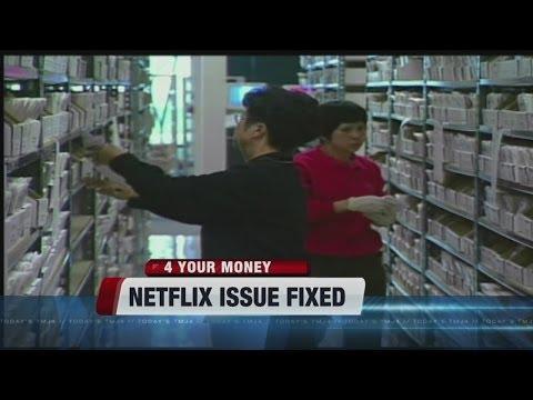 Netflix addresses brief outage