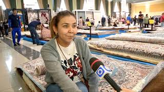 Выставка ковров проходит в Шымкенте