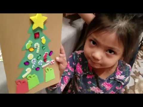Vlogmas Day 17 | Christmas Crafts at work