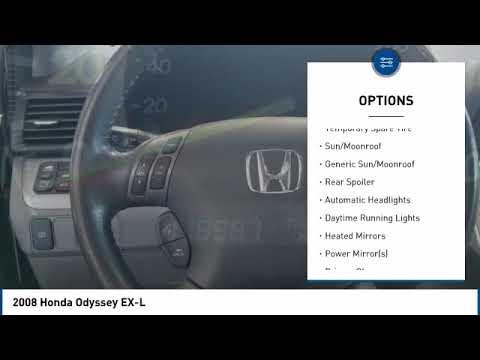 Honda State College >> 2008 Honda Odyssey 2008 Honda Odyssey Ex L For Sale In State College Pa 606954b