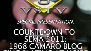 1968 Camaro Countdown to SEMA 2011 V8TV Video:  Eastwood Zinc Plating Kit