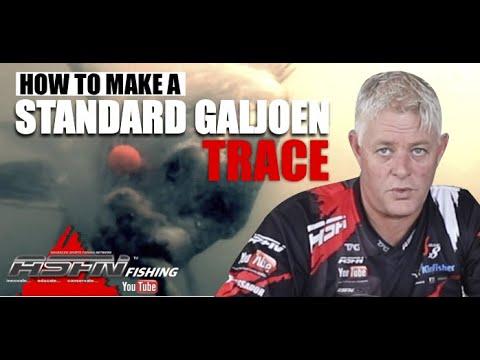 HOW TO: Make A Standard Galjoen Trace [ASFN Fishing] #fishing