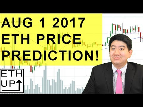 ETHEREUM Price Prediction Aug. 1 2017 Technical Analysis ETH Price