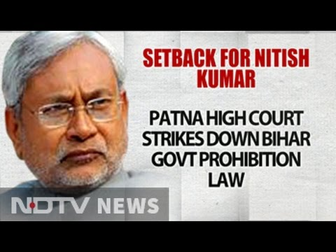 Nitish Kumar's Prohibition Policy Is Illegal, Says High Court, Cancels It