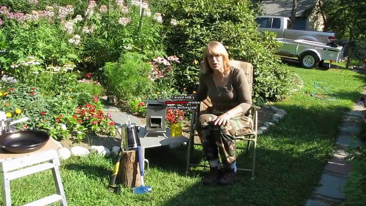 grover rocket stove youtube