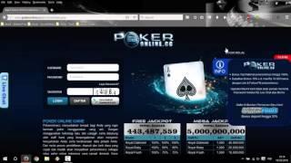 Cara Daftar PokerOnline cc