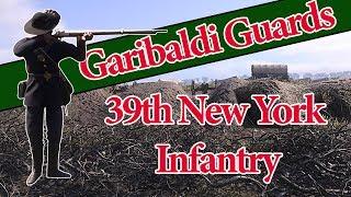 "Fighting Regiments of War of Rights - 39th New York ""Garibaldi Guards"""