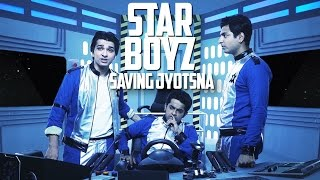 3 South Indian Boys in Space | STAR BOYZ | SAVING JYOTSNA #LaughterGames