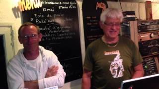 Piet Metaal zingt op camping creuse-nature