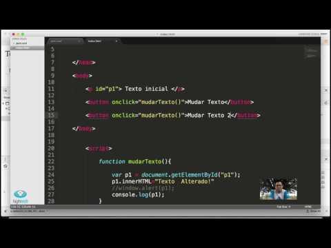 Aula23 - Java Script - Alterando A Tela Com Element.innerHTML